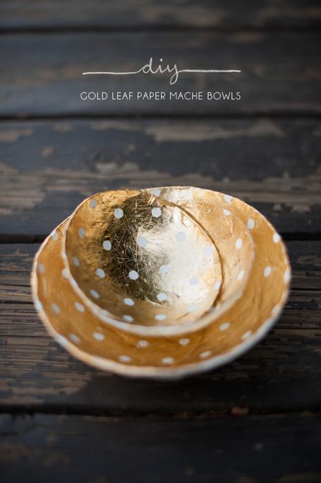diy_gold-leaf-paper-mache-bowls (465x700, 188Kb)