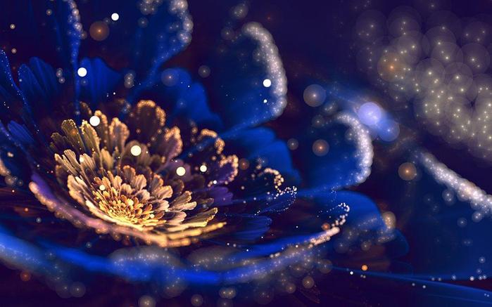 фрактальные цветы картинки Сильвия Кордедда 5 (700x437, 283Kb)