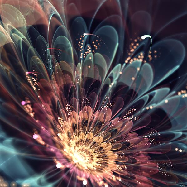 фрактальные цветы картинки Сильвия Кордедда 11 (600x600, 351Kb)