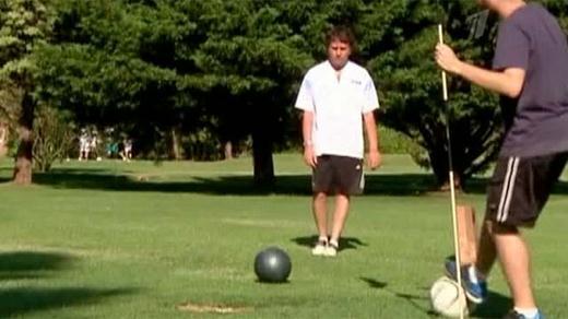 Футгольф. Аргентинцы увлеклись новым видом спорта. Видео, фотографии