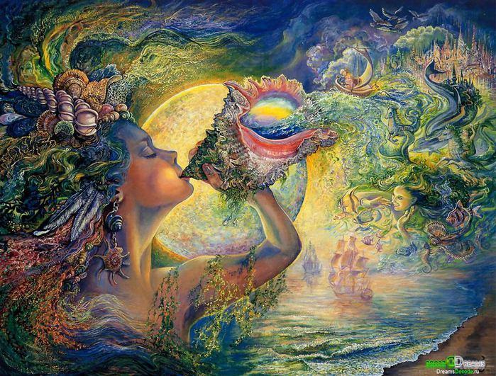 ангелы куниной живопись: