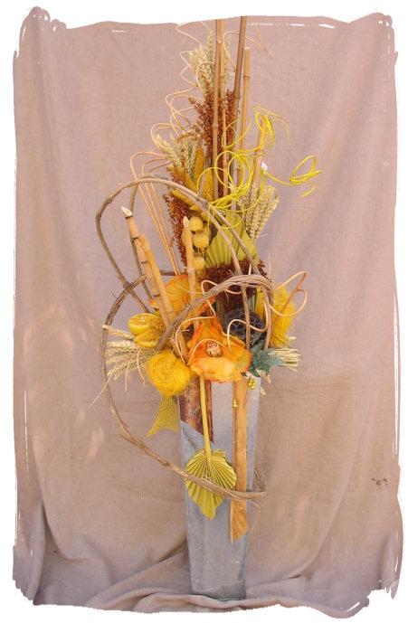 Икебана своими руками из сухих цветов своими руками