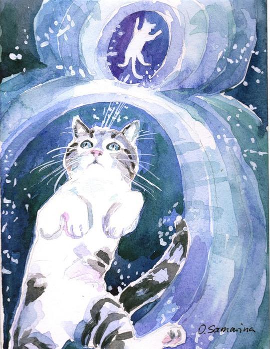 Ол-Самари. Кот и Смерть.