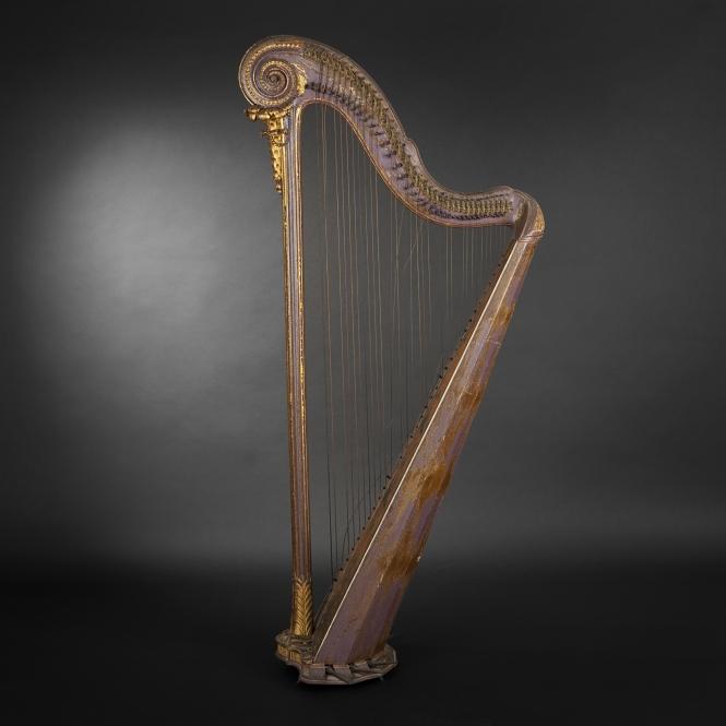 Harpe de Cousineau du XVIIIe siècle (665x665, 183Kb)