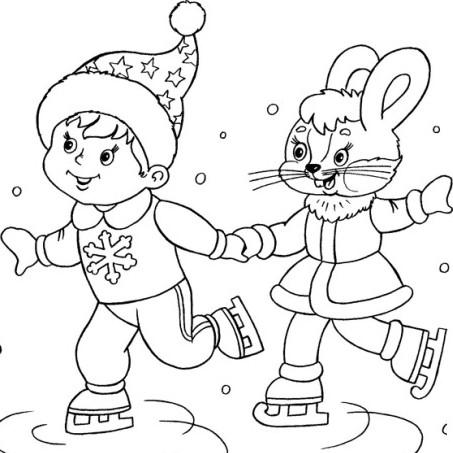 Новогодние гномы раскраски