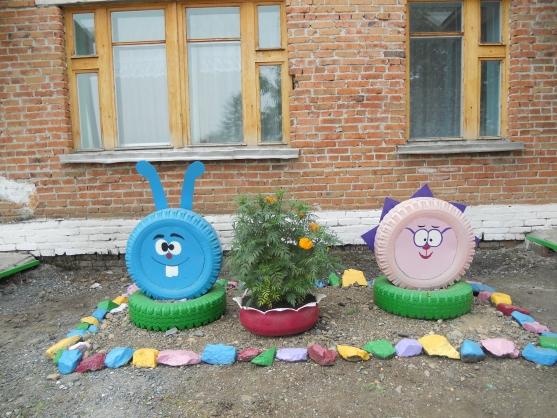 Фото детских площадок детского сада своими руками