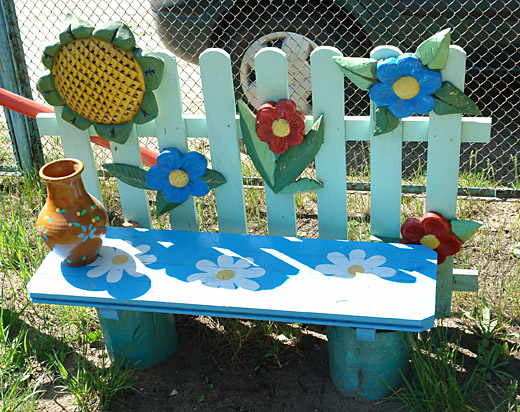 Идеи для оформления площадки детского сада своими руками