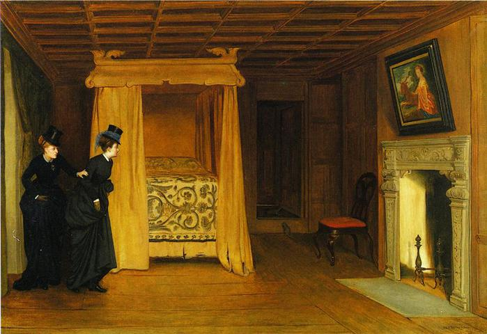 William Frederick Yeames. A Visit to the Haunted Chamber, 1869. (700x480, 57Kb)
