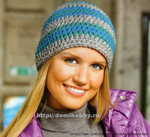 Вязание плотной шапки