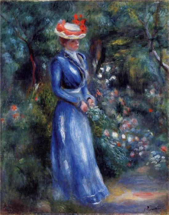 woman-in-a-blue-dress-standing-in-the-garden-of-saint-cloud-1899.jpg!HalfHD (549x700, 69Kb)