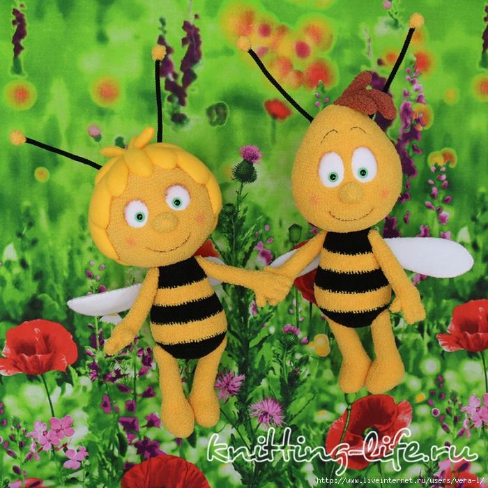 Пчелка майя своими руками