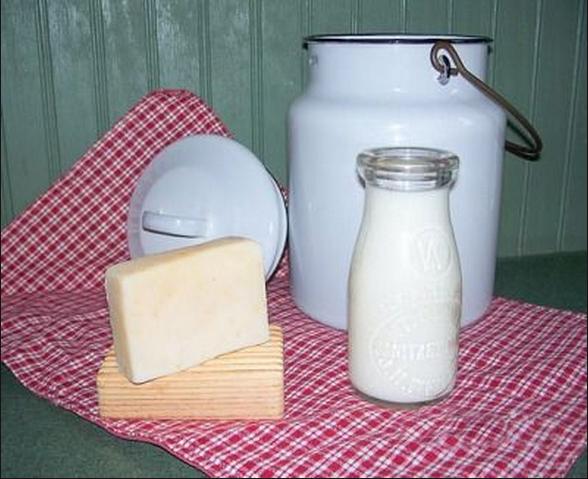 Молоко своими руками в саду