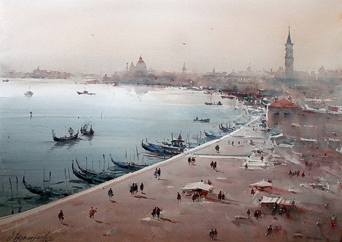 dusan-djukaric-beautiful-venice-watercolor (700x495, 128Kb)