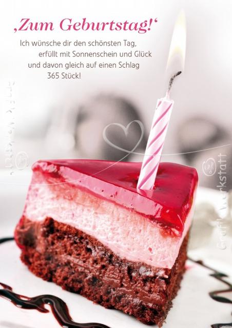 Поздравление с днем рождения немецком языке