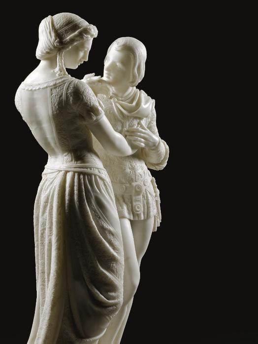 Pio Fedi (1816-1892) Dionora de Bardi and Ippolito Buondelmonti (1) (524x700, 176Kb)