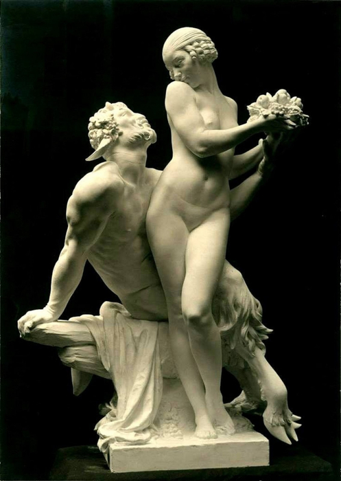 Edward McCartan Nymph and Satyr, 1920 (497x700, 219Kb)