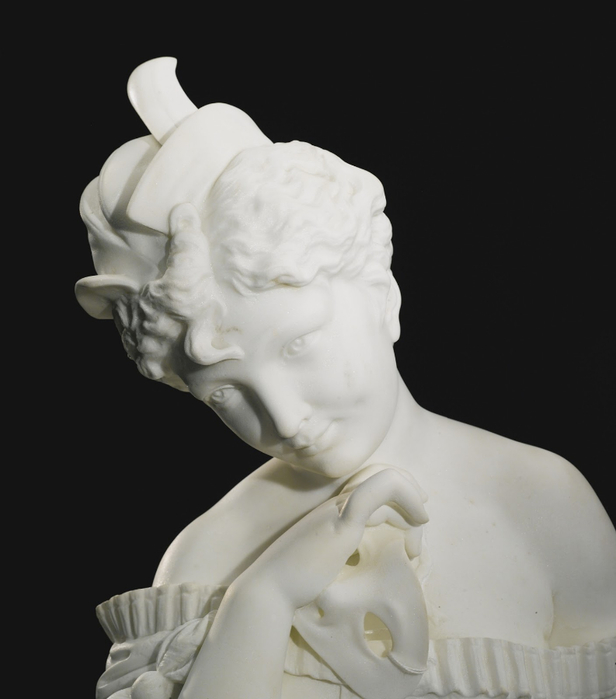 Ferdinando Vichi (Italian Sculptor 1875-1945) Masquerade (3) (616x700, 163Kb)