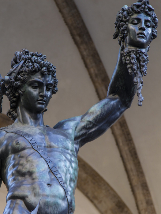 Benvenuto Cellini Perseus with the Head of Medusa, c. 1554 (526x700, 314Kb)