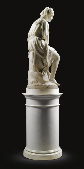 Giovanni Battista Lombardi (Italian sculptor 1823-1880) Ruth, 1864 5 (349x700, 89Kb)