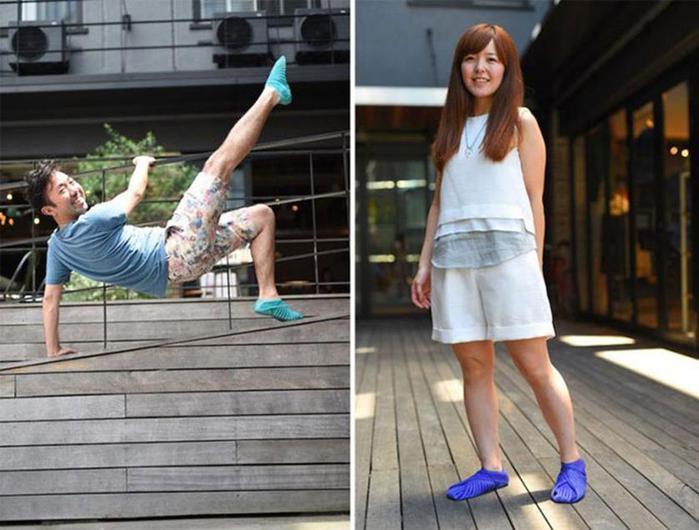 124806951 090215 1342 8 Японские дизайнеры обуви придумали кроссовки, которые оборачиваются вокруг ноги, как платки