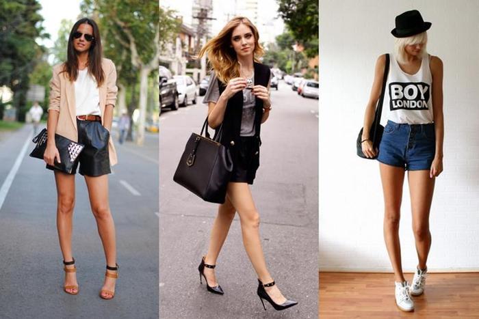 Как визуально удлинить ноги с помощью хитростей в одежде