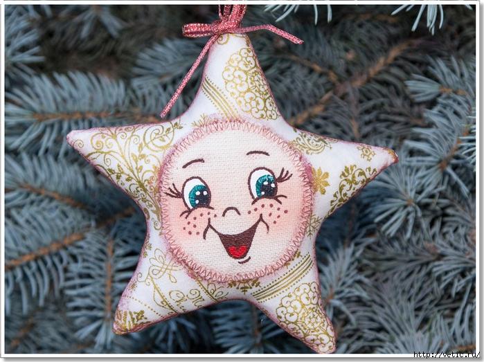 новогодняя игрушка звёздочка 10 (рамка) (700x523, 340Kb)