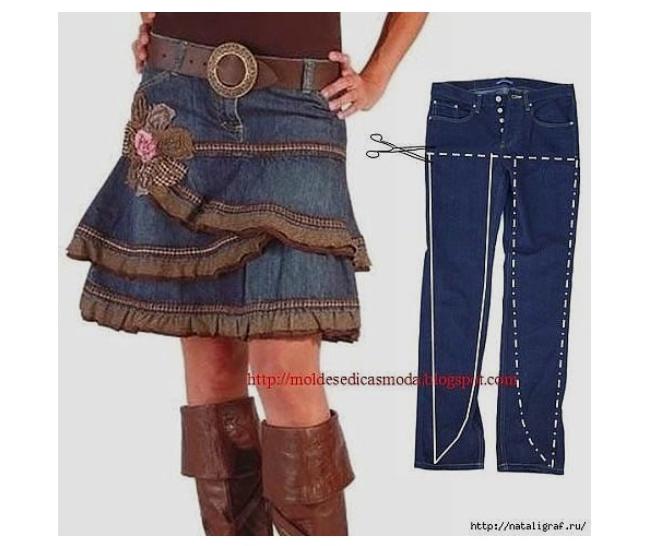 Переделать джинсы своими руками