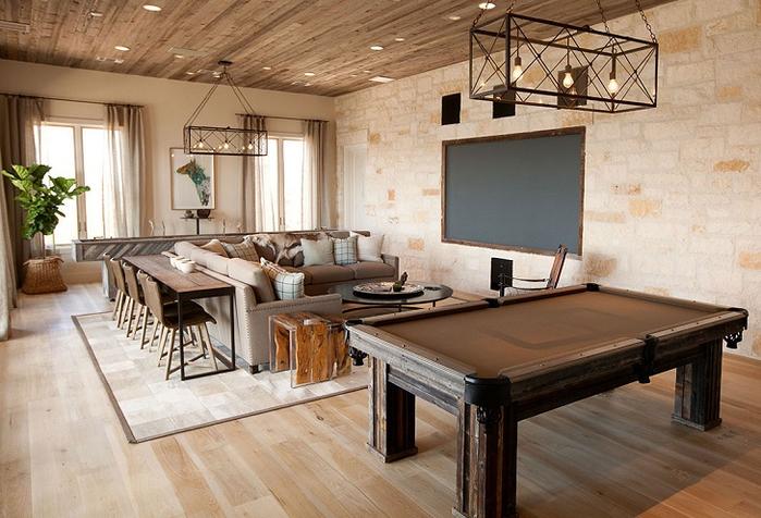 красивый дизайн интерьера большого дома 3 (700x476, 379Kb)