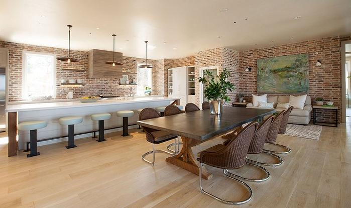 красивый дизайн интерьера большого дома 5 (700x414, 308Kb)