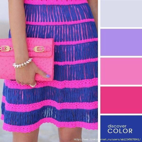 Как скомбинировать цвета в вязании
