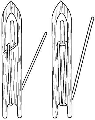 Челнок для вязания сетей своими руками