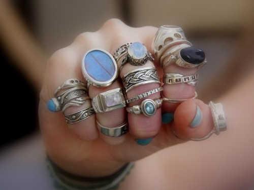 денежный заговор на кольцо