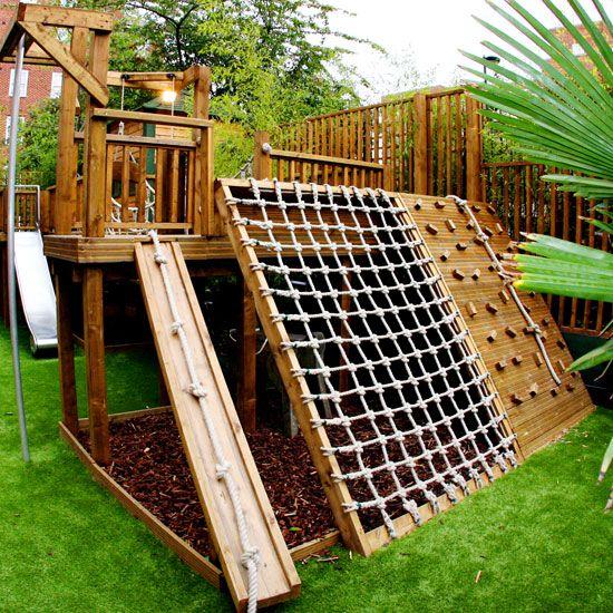 Хорошие идеи для детской площадки своими руками