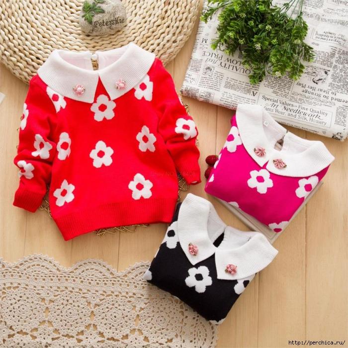 4979645_2014newautumnfemalechildrensgirlclothingplumblossomcrewnecksweaterchildrensunflowerssweater (700x700, 412Kb)