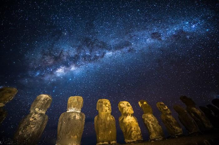 Млечный путь в ночном небе10 (700x465, 374Kb)