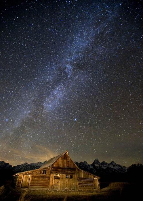 Млечный путь в ночном небе8 (497x700, 373Kb)