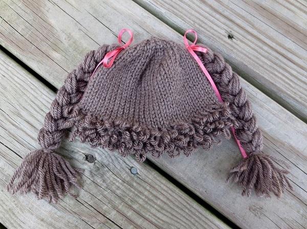 вязаная шапочка для девочки Cabbage Patch Kids 7 (600x448, 347Kb)