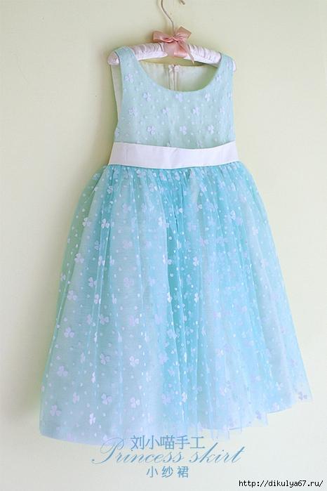 Мастер класс шьем платье девочке