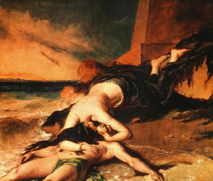 Миф о Геро и Леандре (подборка живописи)