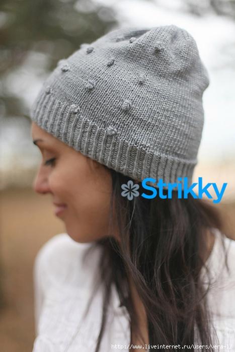 шапка-вязаная-спицами-для-девушек-и-женщин-с-шишечками (467x700, 212Kb)
