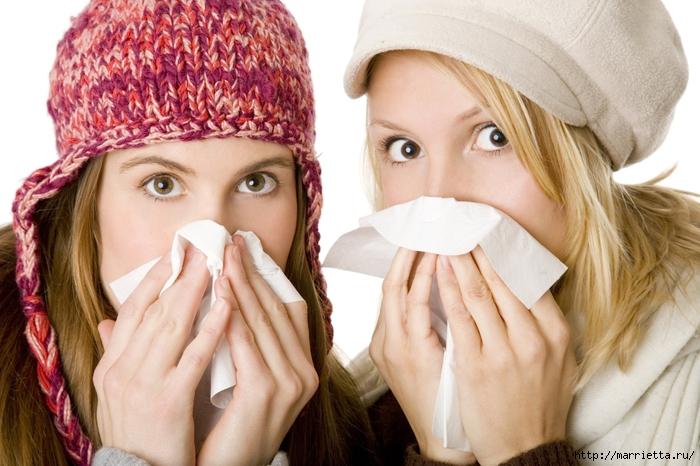 Лечение простуды народными рецептами (700x466, 266Kb)