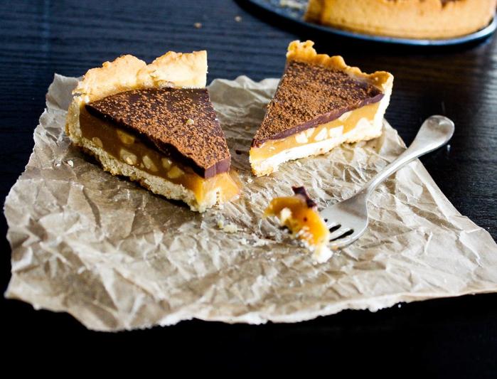 шоколадный тарт с соленым1' арахисом (700x533, 390Kb)