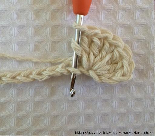 Осинка вязание коврик