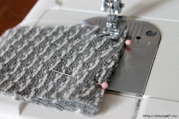Шьем носки из старого свитера мастер класс сделай сам #3