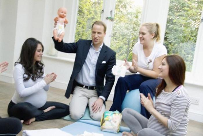 Элисон Джексон. Фейковые фотографии беременной Кейт Миддлтон и принца Уильяма
