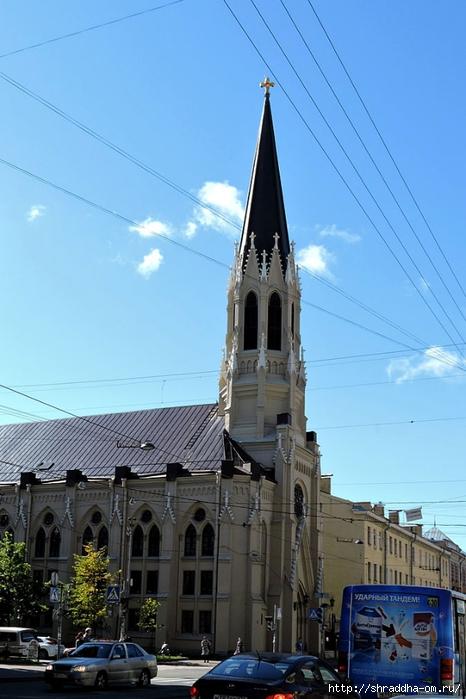 евангелическо-лютеранская церковь, Спб (1) (466x700, 225Kb)