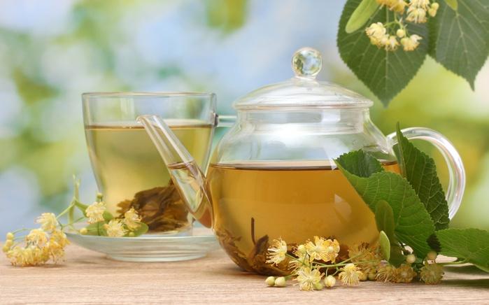 Сочетание чая с травами