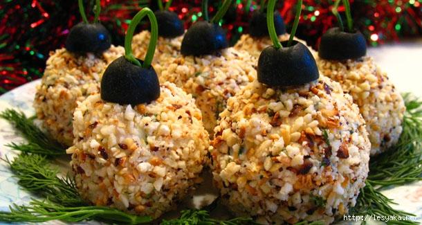 Новогодние простые закуски рецепт с фото