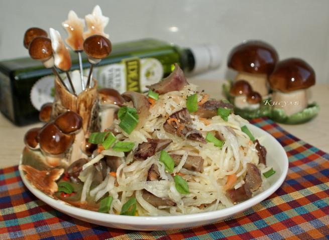 Салат из соленых груздей рецепт очень вкусный