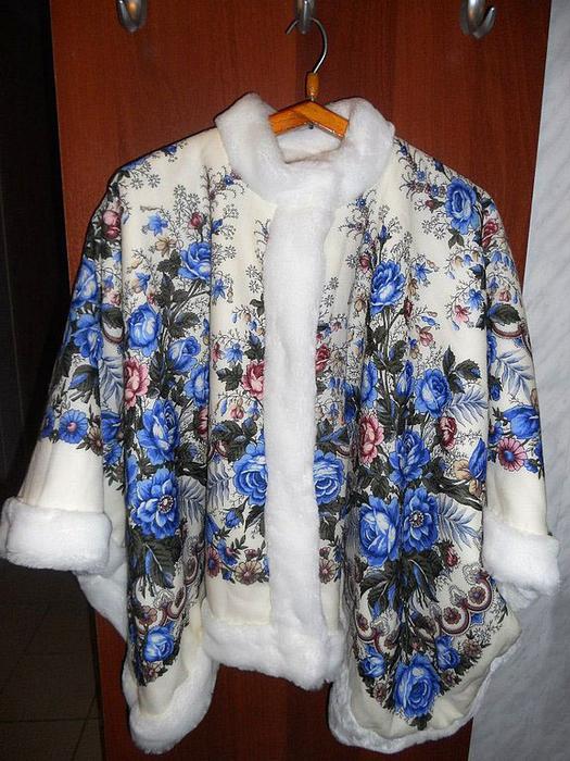 Блузка Из Платков Своими Руками В Новосибирске